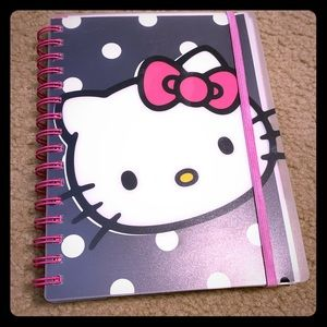 NEW Hello kitty notebook/agenda/journal
